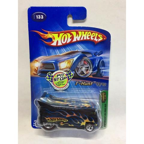 Hot Wheels - Customized VW Drag Bus Preto - Treasure Hunt Super 2005