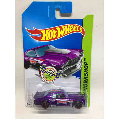 Hot Wheels - 70 Chevy Chevelle Roxo - Treasure Hunt Super 2014