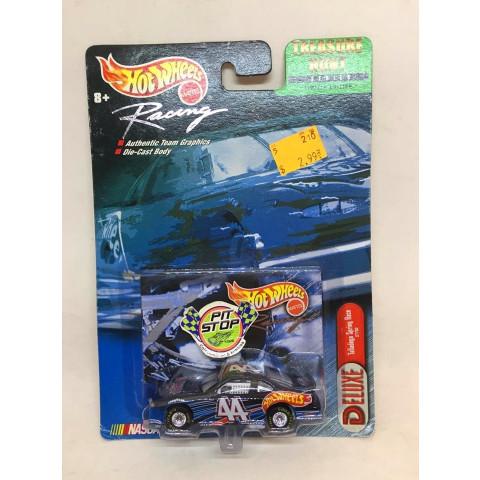 Hot Wheels - Pontiac Grand Prix - Azul - Treasure Hunt - Nascar