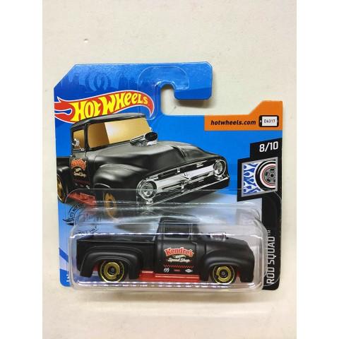 Hot Wheels - Custom 56 Ford Truck Preto - Mainline 2019