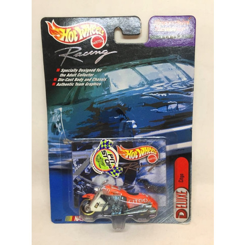 Hot Wheels - Scorchin Scooter Laranja - Citgo - Nascar