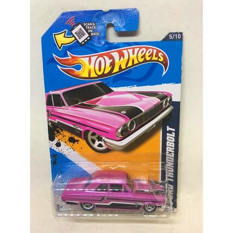 Hot Wheels - Ford Thunderbolt Rosa - Mainline 2012 - Walmart Exclusivo
