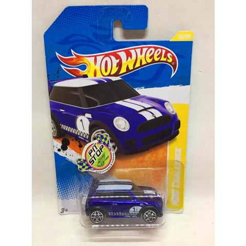 Hot Wheels - Mini Challenge Azul - Mainline 2011