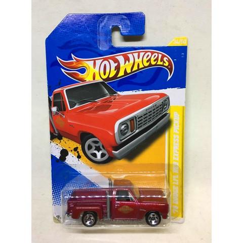 Hot Wheels - 78 Dodge Lil Red Express Pickup Vermelho - Mainline 2012