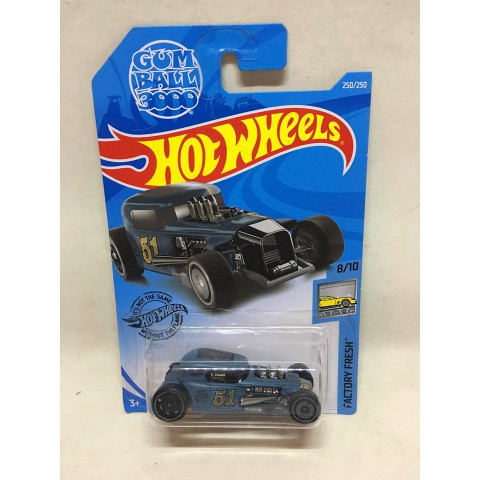 Hot Wheels - Mod Rod Azul - Mainline 2019