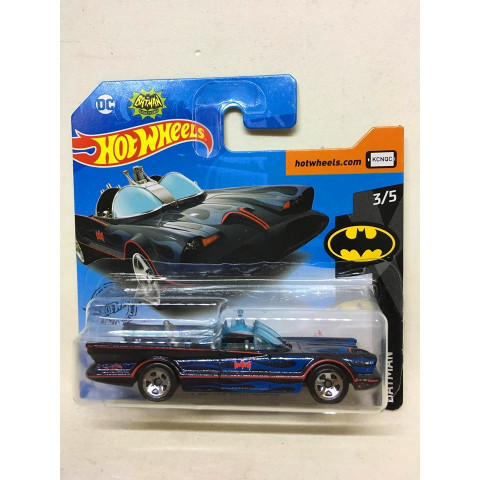 Hot Wheels - TV Series Batmobile Preto - Mainline 2019