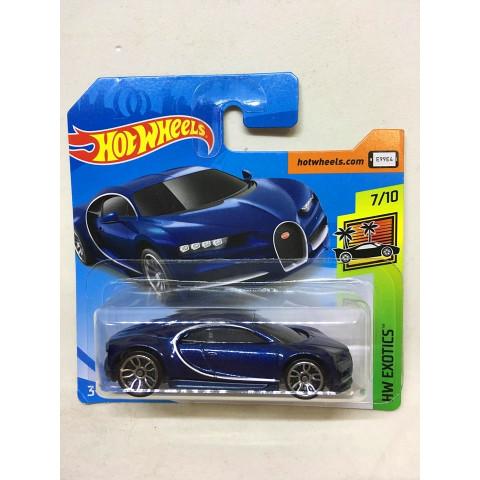 Hot Wheels - 16 Bugatti Chiron Azul - Mainline 2019