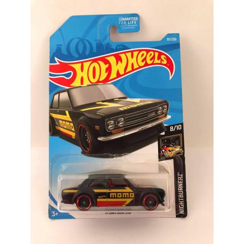 Hot Wheels - 71 Datsun 510 Preto - Kmart Exclusivo 2019