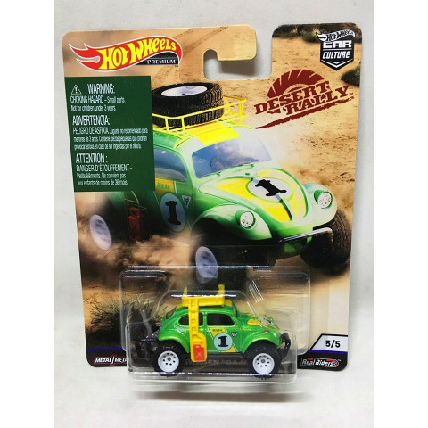 Hot Wheels - Volkswagen Baja Bug Verde - Desert Rally - Car Culture