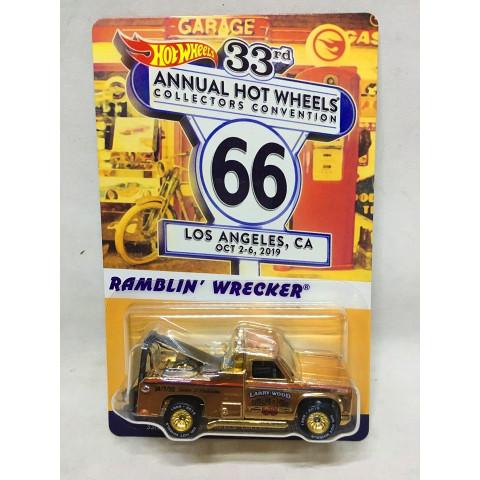 Hot Wheels - Ramblin' Wrecker - Dinner Car - 33rd Annual HW Collectors Convention - Los Angeles, CA - Outubro 2019