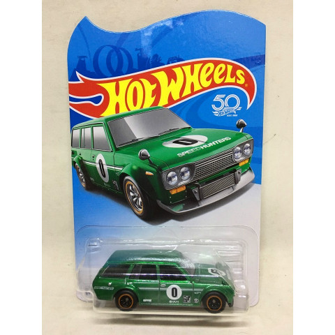 Hot Wheels - 71 Datsun Bluebird 510 Wagon - Legends Tour 2018 Collector Edition