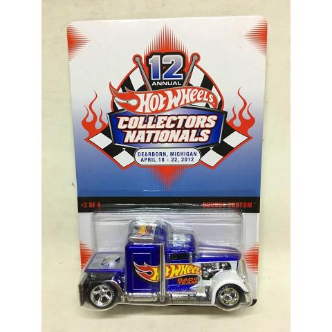 Hot Wheels - Convoy Custom - 12 Annual HW Collectors Nationals - Dearborn, Michigan - Abril 2012