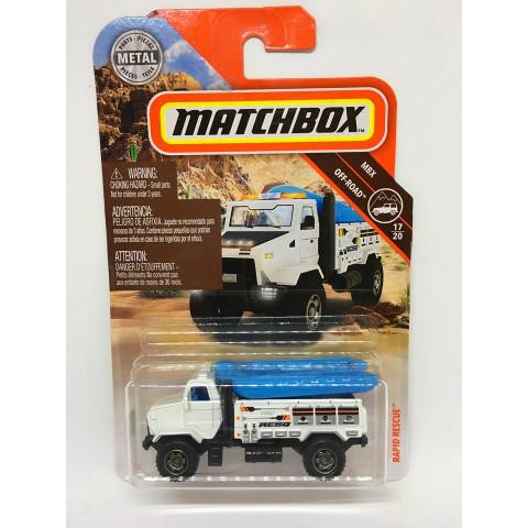 Matchbox - Rapid Rescue Branco - MBX Off-Road - Básico 2019