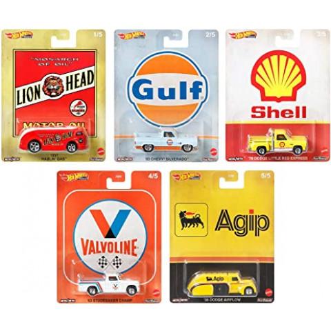 Hot Wheels - Set Fuel Completo 5 Miniaturas - Pop Culture