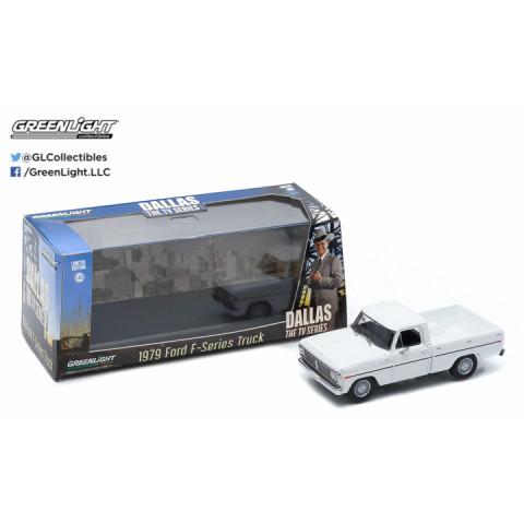 Greenlight - 1979 Ford F-Series Truck - Dallas The Tv Series - Escala 1:43