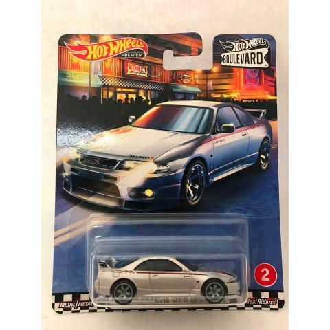 Hot Wheels - Nissan Skyline GT-R (BCNR33) Cinza - Boulevard 2020