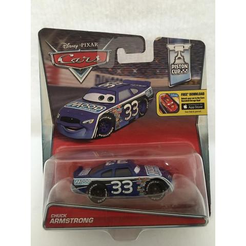 Disney Cars - Chuck Armstrong Azul - Piston Cup