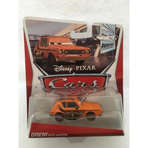 Disney Cars - Grem With Weapon Laranja - Airport Adventure