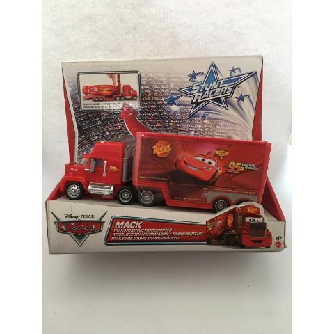Disney Cars - Mack Vermelho - Stunt Racers