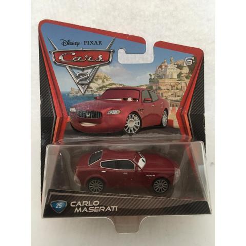 Disney Cars - Carlo Maserati Vermelho - Cars 2