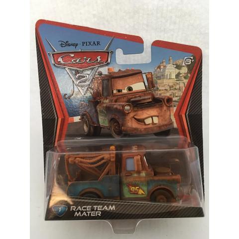 Disney Cars - Race Team Mater Marrom - Cars 2