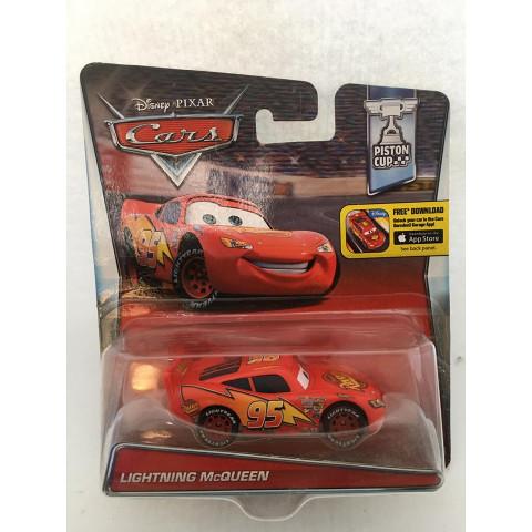 Disney Cars - Lightning McQueen Vermelho - Free Download - Piston Cup