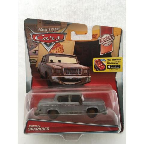 Disney Cars - Michael Sparkber Cinza - Rust-eze Racing