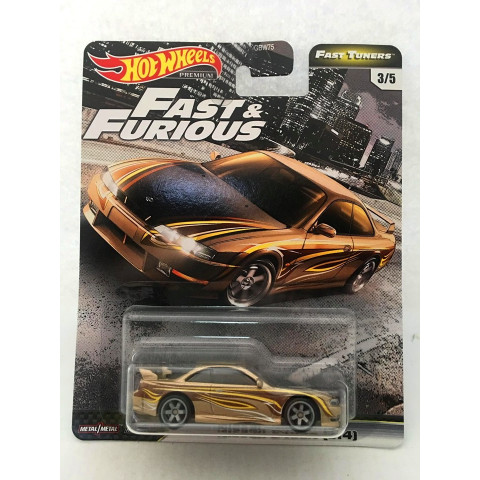 Hot Wheels - Nissan 2405X (514) Dourado - Fast Tuners - Fast and Furious