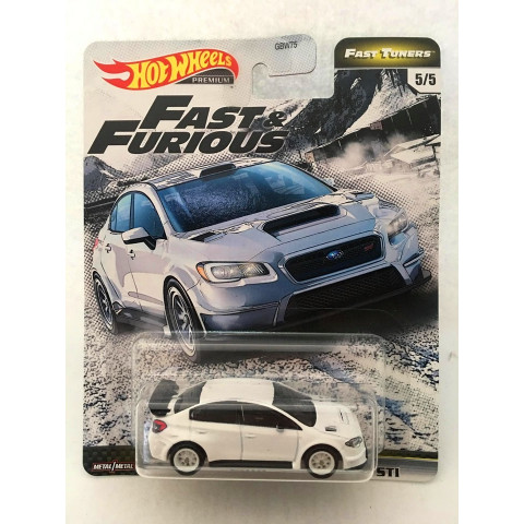 Hot Wheels - 2016 Subaru Wrx Sti Branco - Fast Tuners - Fast and Furious