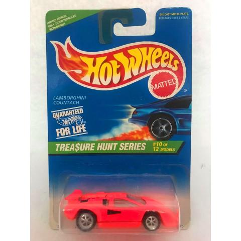 Hot Wheels - Lamborghini Countach Laranja - Treasure Hunt Super 1996