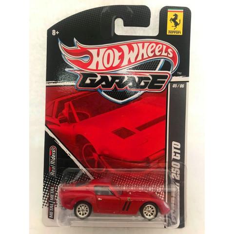 Hot Wheels - Ferrari 250 GTO Vermelho - Garage