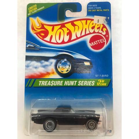 Hot Wheels - 57 T-Bird Preto - Treasure Hunt Super 1995