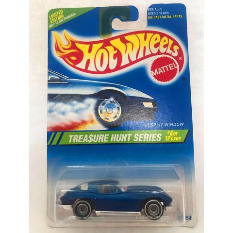 Hot Wheels - 63 Split Window Azul - Treasure Hunt Super 1995