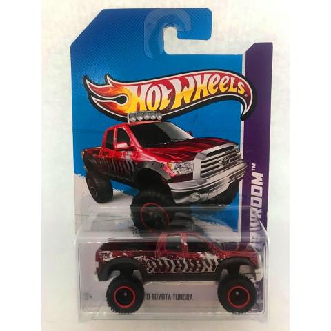 Hot Wheels - 10 Toyota Tundra Vermelho - Treasure Hunt Super 2013
