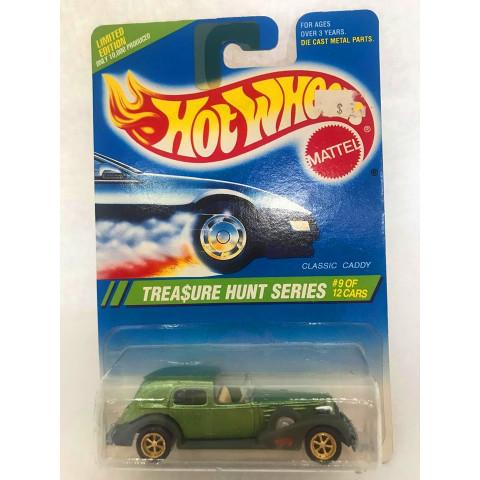 Hot Wheels - Classic Caddy Verde - Treasure Hunt Super 1995