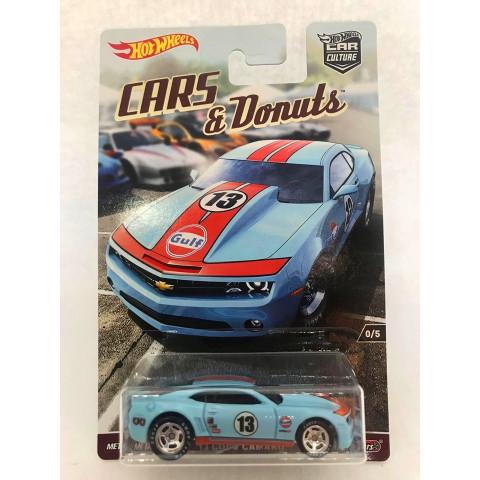 Hot Wheels - 13 Copo Camaro Azul - Cars e Donuts - Exclusivo Set CC RLC