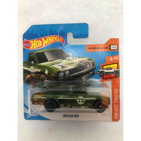 Hot Wheels - Datsun 620 Verde - Treasure Hunt Super 2018