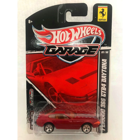 Hot Wheels - Ferrari 365 GTB4 Daytona Vermelho - Garage