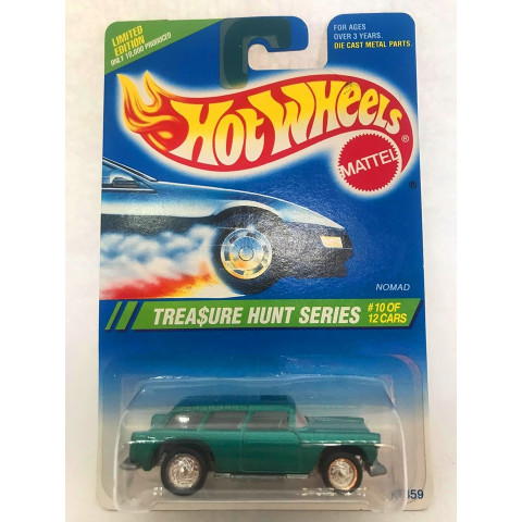 Hot Wheels - Nomad Verde - Treasure Hunt Super 1995
