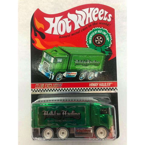 Hot Wheels - Hiway Hauler Verde - Holiday Hauling - Club Exclusive
