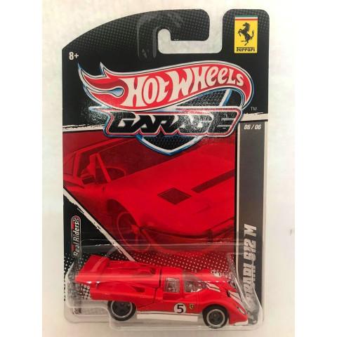 Hot Wheels - Ferrari 512M Vermelho - Garage