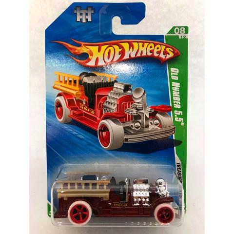 Hot Wheels - Old Number 5.5 Vermelho - Treasure Hunt Super 2010