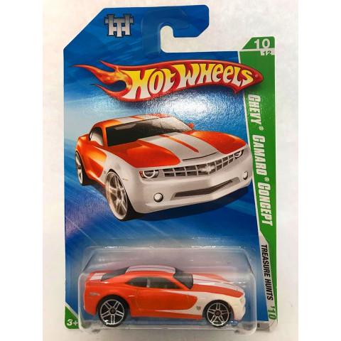 Hot Wheels - Chevy Camaro Concept Laranja - Treasure Hunt Normal 2010