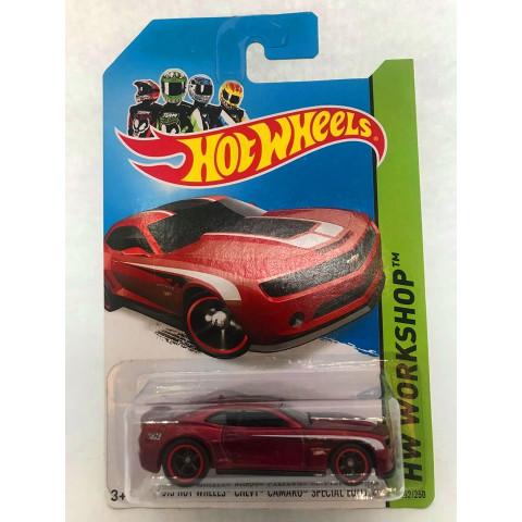 Hot Wheels - 2013 Hot Wheels Chevy Camaro Special Edition Vermelho - Treasure Hunt Super 2014