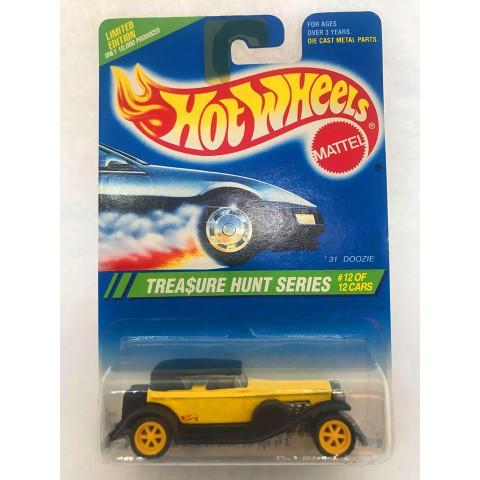 Hot Wheels - 31 Doozie Preto/Amarelo - Treasure Hunt Super 1995