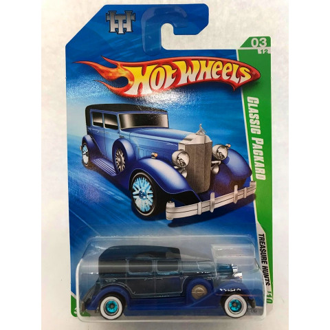 Hot Wheels - Classic Packard Azul - Treasure Hunt Super 2010