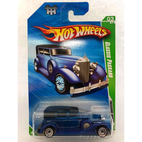 Hot Wheels - Classic Packard Azul - Treasure Hunt Normal 2010