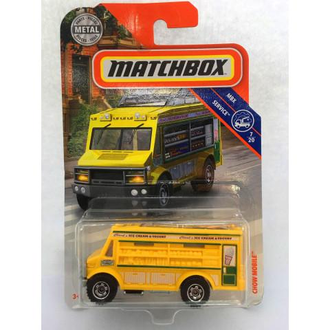 Matchbox - Chow Mobile Amarelo - MBX Service - Básico 2019