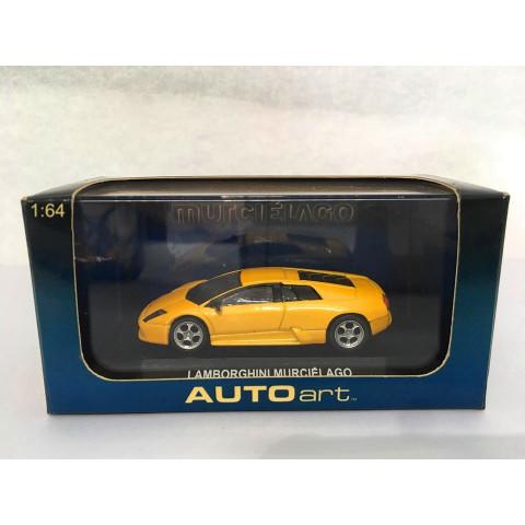 Auto Art - Lamborghini Murciélago Amarelo - Murciélado