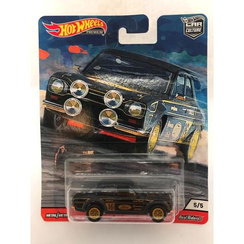 Hot Wheels - 70 Ford Escort RS1600 - Door Slammers - Car Culture